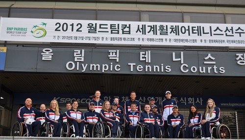 2012 BNP Pariba World Team Cup-Team USA